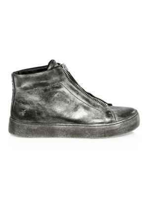 Lena Zip High-Top Sneakers