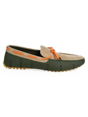 SWIMS Braided Lace Lux Loafers