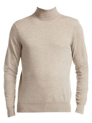 COLLECTION Lightweight Cashmere Turtleneck