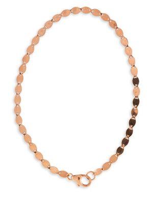 14K Rose Gold Nude Chain Bracelet