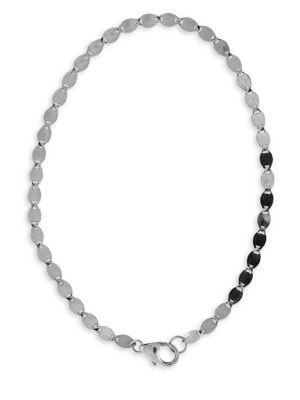 LANA JEWELRY 14K White Gold Nude Chain Bracelet