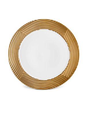 Corde Wide Rim Porcelain Charger Plate