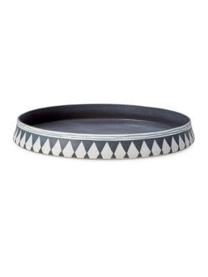 Tribal Round Porcelain Platter