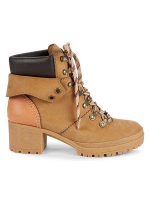 Eileen Platform Construction Boots