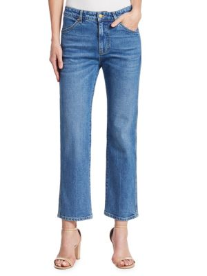 Cali Cropped Flare Jeans