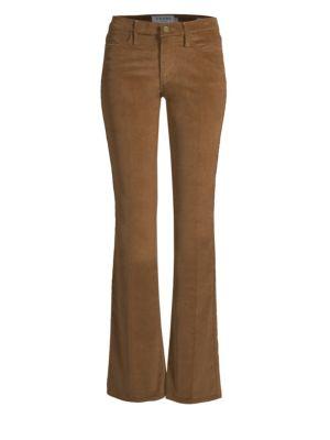 Le High Flare Corduroy Pants