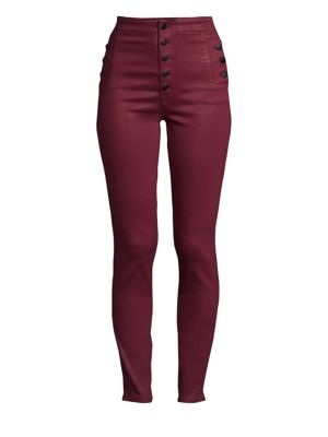 Natasha Sky High Skinny Coated Pants