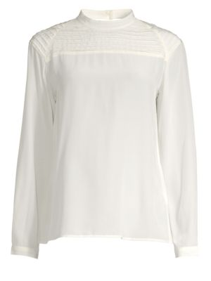 Chrystal Pleated Blouse