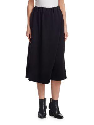 Wrapped Midi Skirt