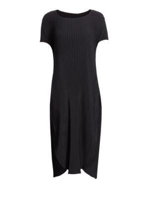 Sunlight Pleated Flutter Dress
