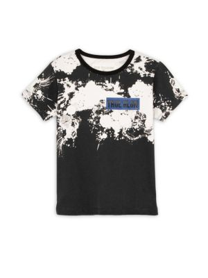 Toddler's, Little Boy's & Boy's Paint Splatter Cotton Tee