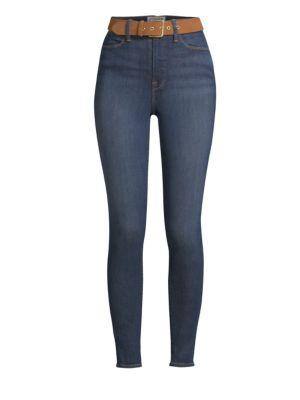 Ali High-Rise Cigarette Crop Skinny Jeans