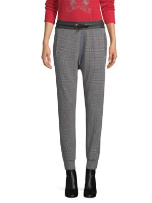 TOMMY HILFIGER COLLECTION Pow Houndstooth Track Pants