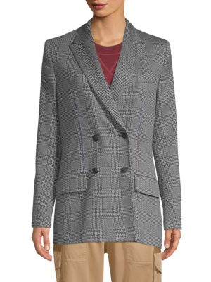 TOMMY HILFIGER COLLECTION Double-Breasted Fitted Blazer