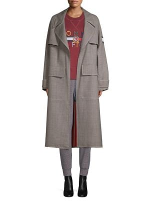 TOMMY HILFIGER COLLECTION His For Her Wool-Blend Trench Coat
