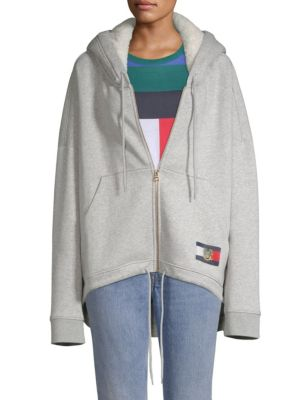 TOMMY HILFIGER COLLECTION United Fleece Logo Hoodie