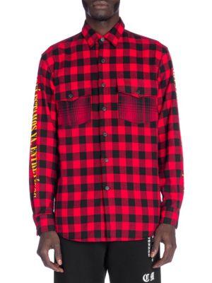 Eagle Plaid Button-Down Shirt
