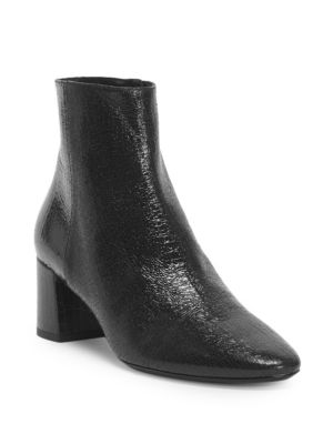 Loulou Leather Bootie