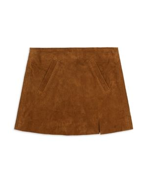 Girl's Spice Suede Mini Skirt