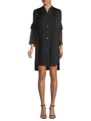 Sawyer Silk High-Low Dress