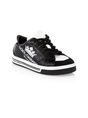 Kid's Low-Top Leather Sneakers