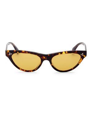 OLIVER PEOPLES | 53MM Zasia Cat Eye Sunglasses | Goxip