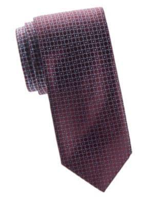 BRIONI Lifesaver Print Silk Tie