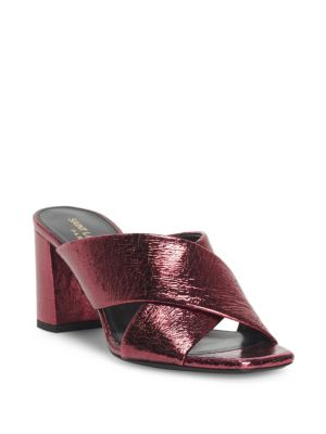 Lou Lou Metallic Leather Sandals