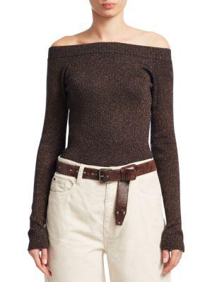 Knit Metallic Sweater