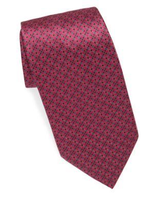 Broken Diamond Silk Tie