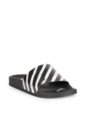Spray Stripes Slides