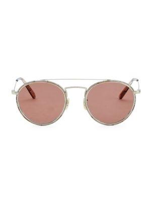 Ellice 50MM Round Sunglasses