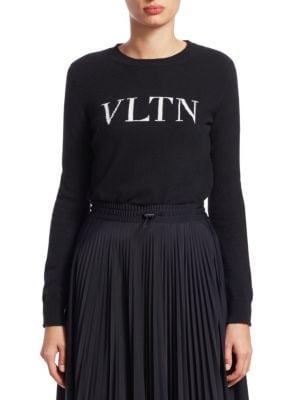 VLTN Knit Cashmere Sweater