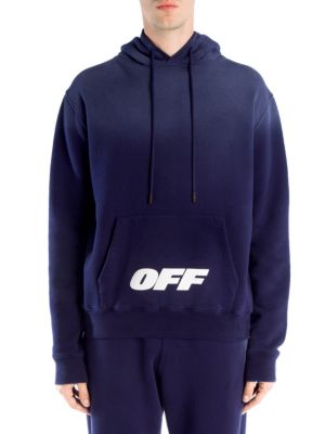 OFF-WHITE Wing Off Cotton Hoodie