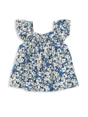Little Girl's & Girl's Floral Top
