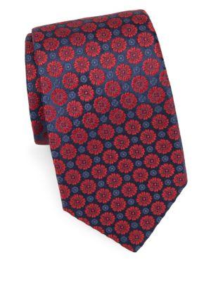 Peony Silk Tie
