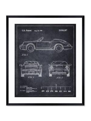 Porsche 911 (1990) Framed Art Print