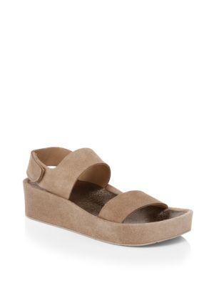 Lacey Suede Platform Sandals