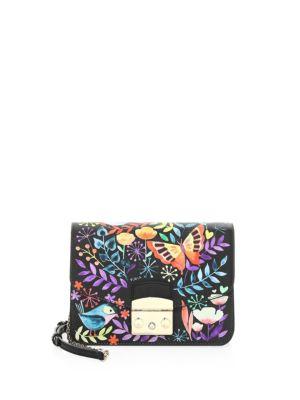 Mini Floral Printed Clutch Bag