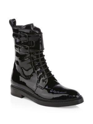 Landrey Patent Combat Boots