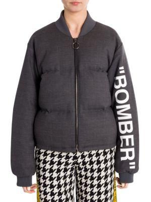 Formal Bomber Jacket