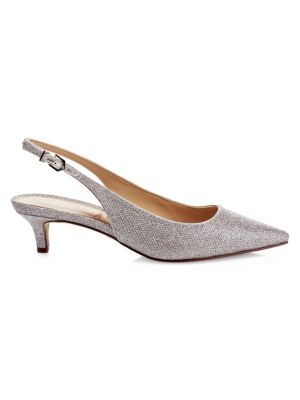 Ludlow Metallic Slingback Pumps