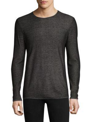 Double Face Crewneck Sweater