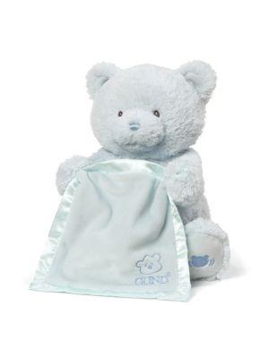 Blue My First Teddy Peek-A-Boo