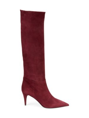 Slouchy Suede Boots