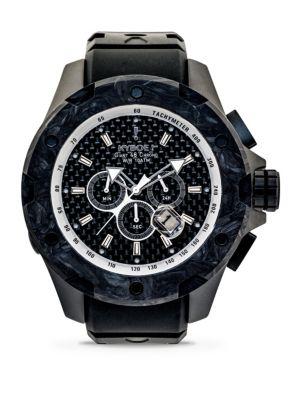 Alpha Series Noir Stainless Steel Strap Watch
