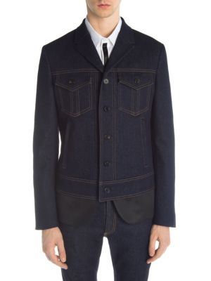 Hybrid Denim Jacket in Blue