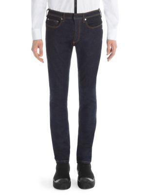 NEIL BARRETT Reg Rise Japanese Denim Skinny Jeans
