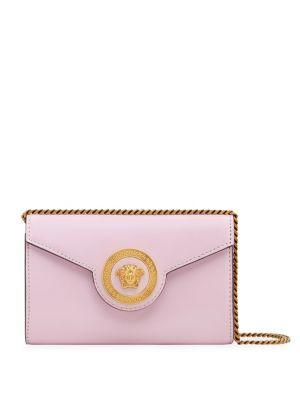 Rosa Nero Chain & Leather Handbag