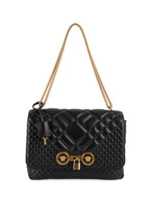 Small Quilted Icon Shoulder Bag